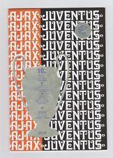 PRG   EC 1   1972/73  FINALE   AJAX AMSTERDAM - JUVENTUS TURIN  //  Reprint  !!