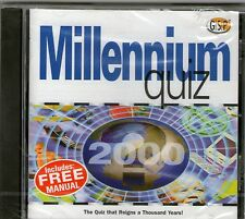 MILLENIUM QUIZ 2000 WINDOWS 95, 98, XP