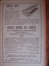 Second Book of Chess: The Nine Bad Moves - HCDJ 1953