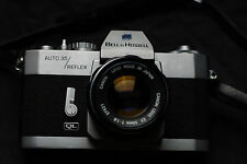 Bell/Howell Auto 35/Reflex QL with Canon Ex 50mm f1.8 lens