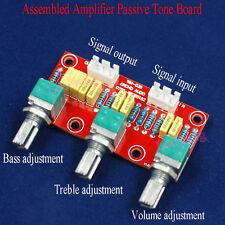 Assembled Passive Tone Board Bass Treble Volume Control Pre-amplifier Amp Boards