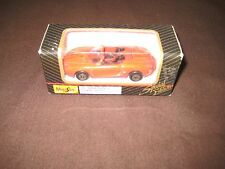 MAISTO LIMITED EDITION RED CONVERTABLE 11001 1:64 DIE CAST CAR IN BOX