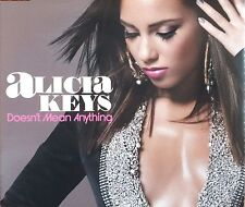 ALICIA KEYS. DOESN'T MEAN ANYTHING / DREAMING CD SINGLE. EXCELLENT. UK DISPATCH