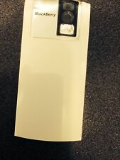 BlackBerry 8100 Pearl Rear Battery Cover Door in White - Original Part Brand New