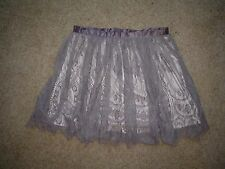 Divided ladies short skirt in Brown with shell under skirt in a size 10UK