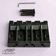 CORDIER CHEVALET BASSE 4 cordes OMEGA BASS BRIDGE 4 strings BLACK  BB-3350-003