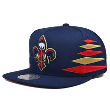 New Orleans Pelicans VINTAGE DIAMOND SNAPBACK Mitchell & Ness NBA Hat