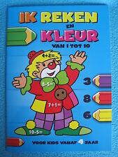 Ik reken en kleur van 1 tot 10 - Vanaf 4 jaar - Nieuw educatief boekje