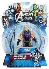 "HAWKEYE ( 4"" INCH ) SNIPER BOW ( 2013 ) MARVEL AVENGERS INITIATIVE ACTION FIGURE"