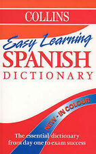 Collins Easy Learning Spanish Dictionary by HarperCollins Publishers (Paperback…