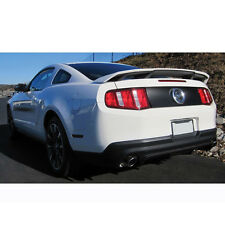 "2010-2014 Unpainted Ford Mustang ""California Special"" 4-Post ABS Plastic Spoiler"