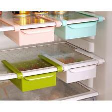 Kitchen Refrigerator Food Fresh Crisper Rack DIY Storage Box Container-White