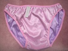 PINK/PURPLE DL SATIN SISSY PANTY FOR MEN  REVERSIBLE  M SIZE