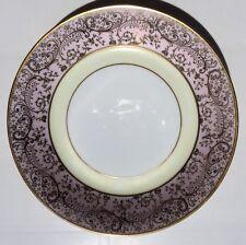 Hutschenreuter Soup Bowls (12) Selb Bavaria LHS Pink 22k Gold Embossed