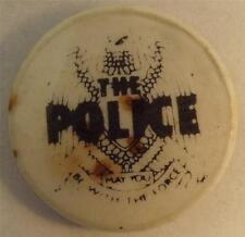 """THE POLICE May You be With the Force Vtg 70`s/80 Button Badge Pin(25mm-1"""")#IP101"""