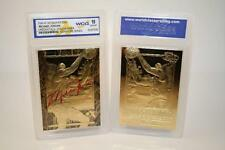 1996-97 MICHAEL JORDAN SKYBOX EX-2000 CREDENTIALS 23K GOLD CARD - GEM MINT 10