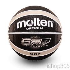Molten GR7-KS Premium Rubber Outdoor Basketball Official Size 7 Black/Silver