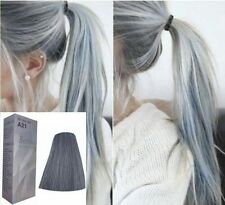 Berina NO A21 Light Gray Ash Color Hair Cream Permanent Super Hair Dye Grey Hot.