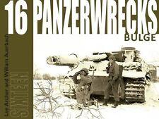 Panzerwrecks 16 chars épaves descendu chars Livre recueil images réservoirs NEUF