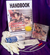 Artificial Insemination AI Kit + DVD Canine Your Dog Breeding Problems Solution!