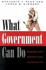 What Government Can Do: Dealing with Poverty and Inequality (American -ExLibrary
