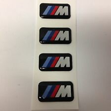 Genuine BMW Set di quattro M POWER M TEC BADGE Cerchi in lega