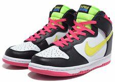 Nike Air Dunk High LONDON Neon Green Pink White Black Size 11.5 Men's BNIB