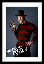 ROBERT ENGLUND - NIGHTMARE ON ELM STREET SIGNED & FRAMED PP POSTER PHOTO