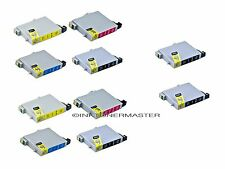 10 non-oem INK FOR EPSON 60 T060 STYLUS C68 C88 CX3800 CX3810 CX4200 CX4800