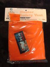 Hunter's Safety Vest, Blaze Orange, quiet fleece, one size fits most, 800 sq in