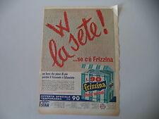 advertising Pubblicità 1966 FRIZZINA STAR