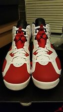 "Nike Air Jordan 6 VI Retro ""Carmine"" Basketball shoes in size 9.5 Yeezy NMD Kobe"