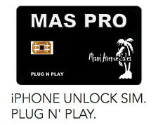 MAS PRO iPhone Unlock SIM for iPhone 7 6S 6 SE 5S 5 (AT&T T-Mobile Sprint)