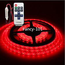 Wireless Waterproof Red LED Strip Light 16ft For Boat  Truck Car Suv  Rv