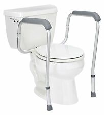 Handicap Grab Bars Adjustable Toilet Safety Rail Seat Assist Elderly Bathroom