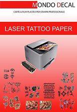 PAPIER pour TATOUAGES TEMPORAIRES - Temporary Tattoo Paper (impression Laser)