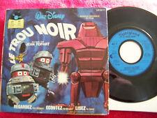 Le Trou Noir      rare frz. Disneyland 45 mit Buch