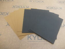 11 PIECES KYDEX T SHEET 297 X 210 X 2MM A4 6 X BLACK 5 X COYOTE BROWN HAIRCELL