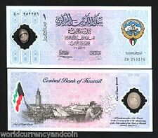 KUWAIT 1 DINAR P CS2 2001 POLYMER *COMMEMORATIVE* CAMEL CURRENCY MONEY BILL NOTE