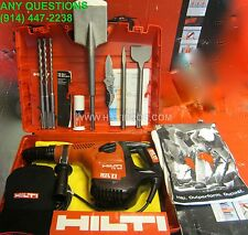 HILTI TE 50 HAMMER DRILL, FREE BITS AND CHISELS, EXCELLENT CONDITION, FAST SHIP