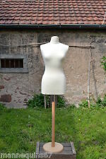 MANNEQUIN BUSTE FEMME VETEMENT COUTURE ROBE DE MARIEE MAGASIN  MADE IN FRANCE