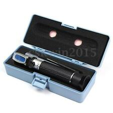 Portable 0-10% Salinity Salt Water Refractometer For Aquarium Fish Hydrometer