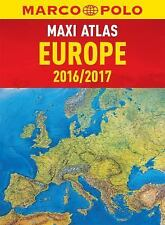 Marco Polo Road Atlas: 2016/2017 Europe Maxi Atlas by Marco Polo Travel...