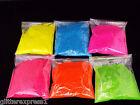 Glitterexpress 008 fine SUPER BRIGHT MATTE NEON GLITTERS 6 Colours 100g bags