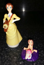 Disney Tarzan on Vulture Bird Young & Jane Porter Toy Figures Cake Toppers