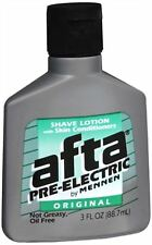 Afta Pre-Electric Shave Lotion Original 3 oz (Pack of 2)
