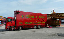 Hull Fair 2014 Pull On / Pull Off Fairground Transport Photo CD Truck Lorry