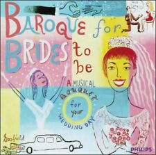 Baroque for Brides to Be  MUSIC CD