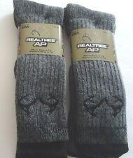 REALTREE  Men's Brand Wool Blend Sportsman Socks, Size 10-13
