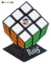 Real Original Rubik's Cube Game Rubix Rubic's 3x3 With Base Stand Puzzle